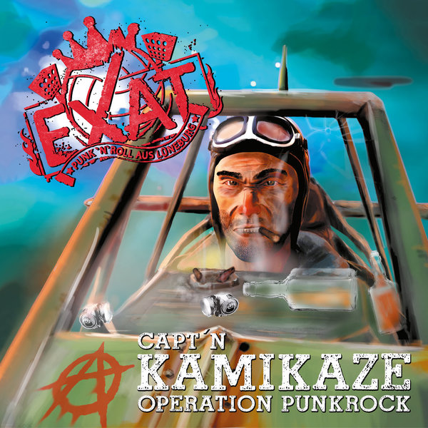 EXAT - Capt`n Kamikaze - Operation Punkrock (Digipack CD)